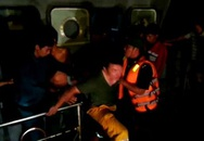 Quá trình đưa 21 nạn nhân vụ chìm tàu ở Cần Giờ lên bờ